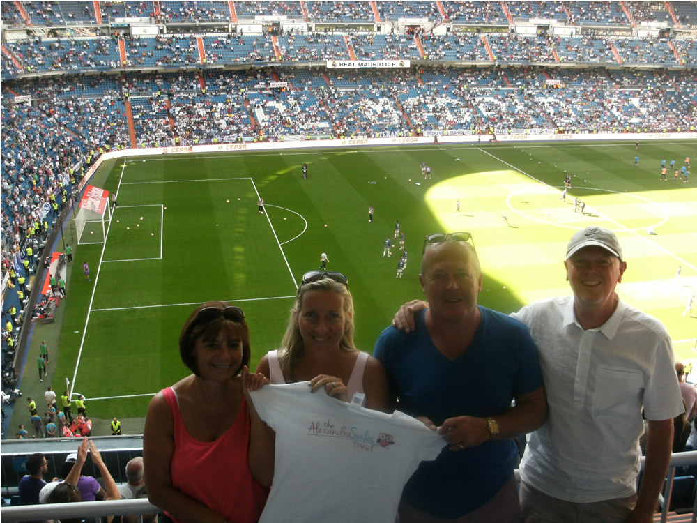 Santiago Bernabéu Football Stadium, Madrid