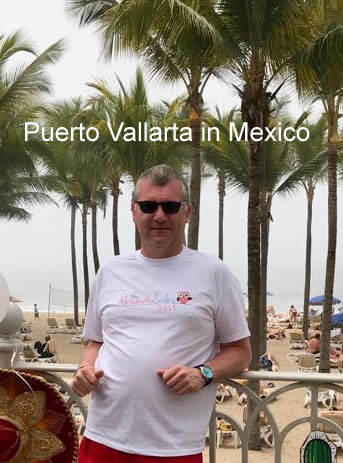 Puerto Vallarta in Mexico