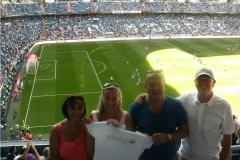 Santiago Bernabéu Football Stadium, Madrid