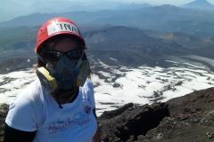 Volcano Villarrica Chile