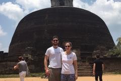 Rankot Vihara in Polonnarywa Sri Lanka